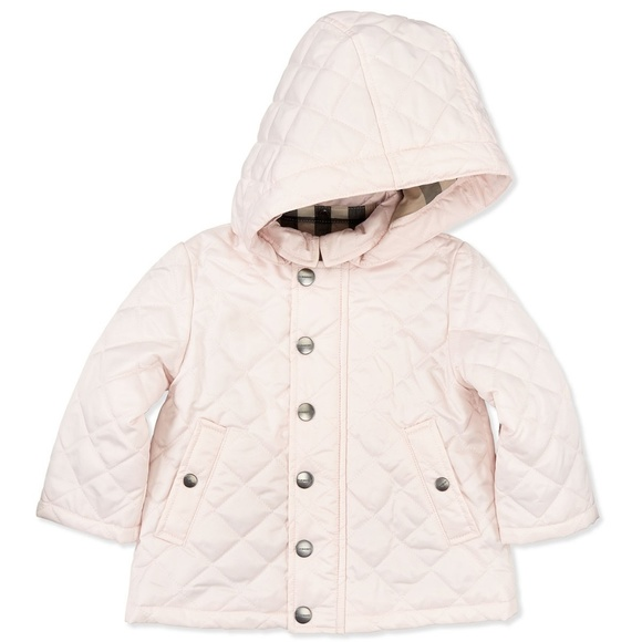 98cccf407162 Burberry Other - Burberry Girls  Jerry Hooded Quilted Jacket